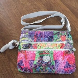 Multi color Kipling crossbody.